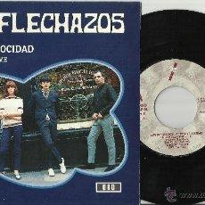 Discos de vinilo: LOS FLECHAZOS SINGLE A TODA VELOCIDAD ESPAÑA ESPAÑA 1992 /3. Lote 41084713