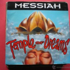 Discos de vinilo: MESSIAH ( TEMPLE OF DREAMS 2 VERSIONES - YOU'RE GOING INSANE ) ENGLAND MAXI KICKIN RECORDS. Lote 41087082