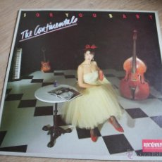 Discos de vinilo: THE CONTINENTALS, FOR YOU BABY, IMPORT, ROCKABILLY, LP. Lote 41099706