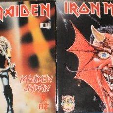 Discos de vinilo: IRON MAIDEN DOBLE MAXI PURGATORY/MAIDEN JAPAN 1990. Lote 41104362