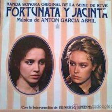 Discos de vinilo: FORTUNATA Y JACINTA (ANA BELÉN) - MÚSICA DE ANTÓN GARCÍA ABRIL - LP. Lote 31199296