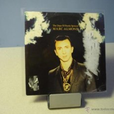 Discos de vinilo: MARC ALMOND THE DAYS OF PEARLY SPENCER BRUISES SINGLE. Lote 41114492