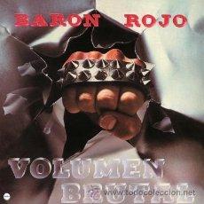 Discos de vinilo: LP BARON ROJO VOLUMEN BRUTAL VINILO ROJO CLARO LIMITADO Y NUMERADO HEAVY METAL . Lote 49646764