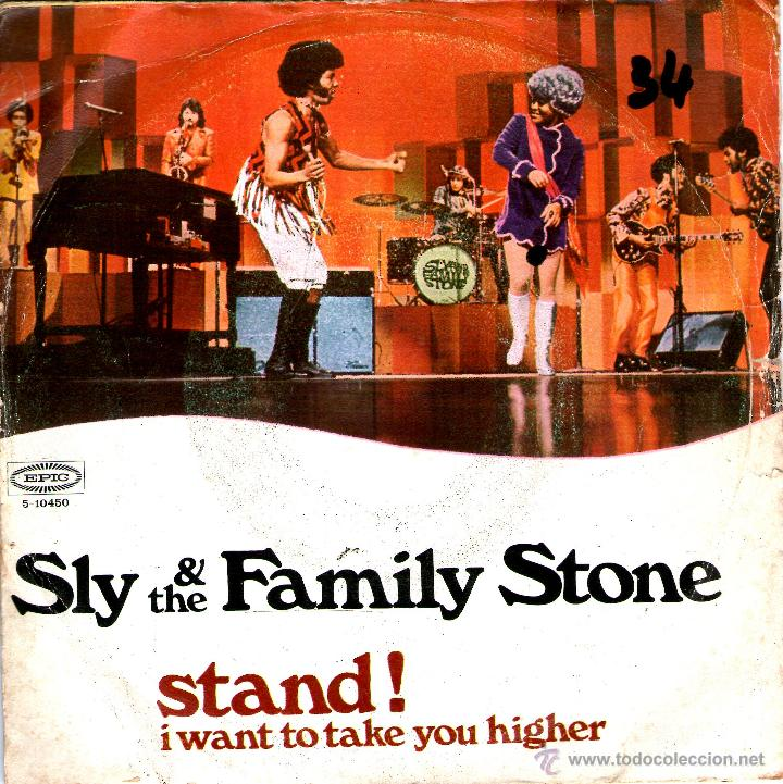 Image result for sly and the family stone stand! single images