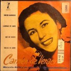 Discos de vinilo - CARMEN DE VERACRUZ - 41120556
