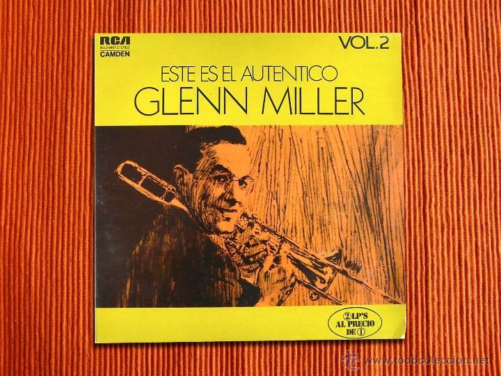 GLENN MILLER - ESTE ES EL AUTENTICO GLEN MILLER VOL.2 - LP DOBLE (Música - Discos - LP Vinilo - Jazz, Jazz-Rock, Blues y R&B)