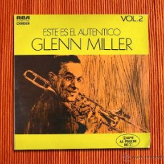 Discos de vinilo: GLENN MILLER - ESTE ES EL AUTENTICO GLEN MILLER VOL.2 - LP DOBLE. Lote 41122621
