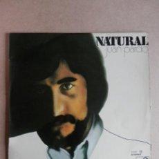 Discos de vinilo: NATURAL - JUAN PARDO. Lote 41134510