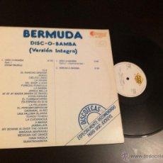 Discos de vinilo: BERMUDA - DISC-O-BAMBA ( MAXI) . Lote 41136698