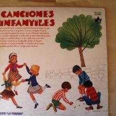 Discos de vinilo: CANCIONES INFANTILES DEL GRUPO LA TARARA. Lote 41139210