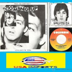 Discos de vinilo: BEATLES, PAUL MCCARTNEY / COMING UP / LUNCH BOX / LIVE VERSION COMING UP( INEDITOS ) EP RARO USA EDT. Lote 41143758