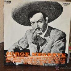 Discos de vinilo: JORGE NEGRETE. Lote 41145075