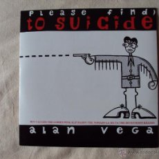 Discos de vinilo: YOUR INVITATION TO SUICIDE - LA SECTA NOMADS BEN VAUGHN GORIES HONEYMOON KILLERS,- 2 X SINGLE COLOR. Lote 41145472