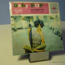 Discos de vinilo: ANTOINETTE BABY POP SINGLE. Lote 41158550