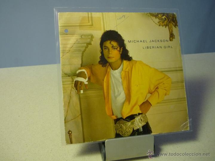 MICHAEL JACKSON LIBERIAN GIRL SINGLE PROMOCIONAL (Música - Discos - Singles Vinilo - Funk, Soul y Black Music)