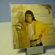 Discos de vinilo: MICHAEL JACKSON LIBERIAN GIRL SINGLE PROMOCIONAL. Lote 41159283