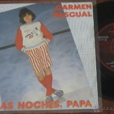 Dischi in vinile: CARMEN PASCUAL - BUENAS NOCHES PAPA / Y SOÑAR - SINGLE - CFE 1982 SPAIN - N MINT. Lote 41169331