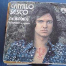 Discos de vinilo: CAMILO SESTO AYUDADME. Lote 41181809