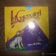 Discos de vinilo: LA GENUINA. EL GOS DE LA DOLORS / CARRER CAVALLERS. SALSETA DISCOS 1989. Lote 41181853