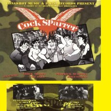Discos de vinilo: COCK SPARRER / A TRIBUTE TO OUR FAVORITE DROOGIES ( 4 TEMAS PUNK, OI!! ) ORG CANADA !! IMPECABLE. Lote 41182490