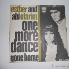 Discos de vinilo: ESTHER AND ABI OFARIM (SN) ONE MORE DANCE AÑO 1968. Lote 41182957