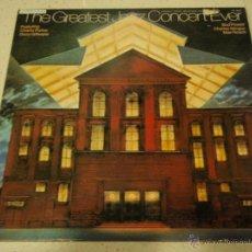 Discos de vinilo: THE GREATEST JAZZ CONCERT EVER (CHARLIE PARKER,DIZZY GILLESPIE,BUD POWELL...) DOBLELP33 ENGLAND-1973. Lote 147243473