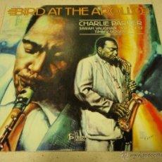 Discos de vinilo: CHARLIE PARKER ( BIRD AT THE APOLLO ) NEW YORK-USA 1981 LP33 CHARLIE PARKER RECORDS. Lote 41192567