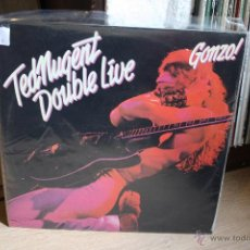 Discos de vinilo: TED NUNGET, GONZO LIVE, DOBLE LP. Lote 41204426
