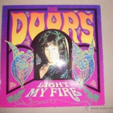 Discos de vinilo: THE DOORS (MAXI) LIGHT MY FIRE +2 TRACKS - AÑO 1987. Lote 41212031