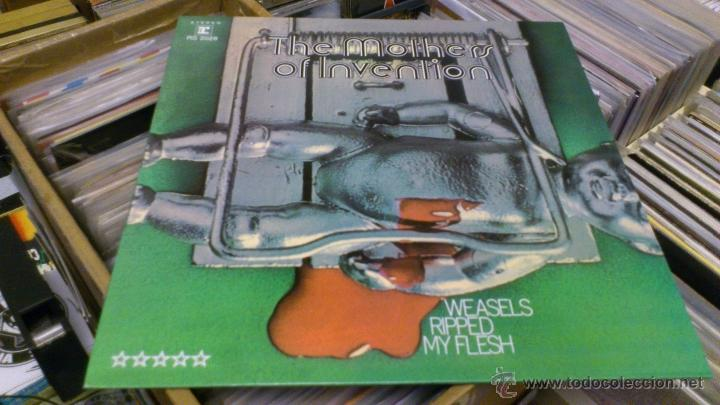 Discos de vinilo: The Mothers of invention Frank zappa lp disco de vinilo Weasels ripped my flesh Reedicion - Foto 2 - 41214121