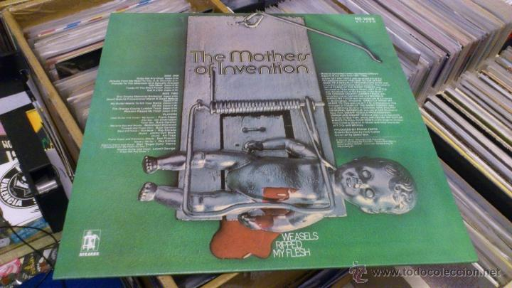 Discos de vinilo: The Mothers of invention Frank zappa lp disco de vinilo Weasels ripped my flesh Reedicion - Foto 3 - 41214121