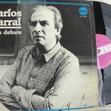 Discos de vinilo: CARLOS BARRAL (BIEN DEBUTE) -LP EDIC. ARGENTINA -BUEN ESTADO. Lote 41214279