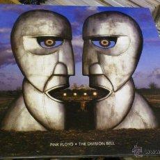 Discos de vinilo: PINK FLOYD THE DIVISION BELL DISCO DE VINILO LP AZUL OSCURO PORTADA DOBLE REEDICION DESCATALOGADA. Lote 58299869