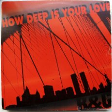 Discos de vinilo: B & G - HOW DEEP IS YOUR LOVE - MAXI MELODY MUSIC 1992 BPY. Lote 41218715