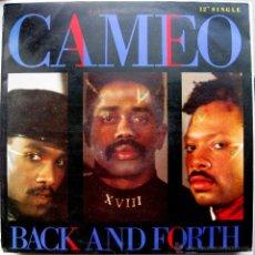 Discos de vinilo: CAMEO - BACK AND FORTH - MAXI MERCURY 1986 BPY. Lote 41220527