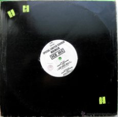 Discos de vinilo: ICE MC - HAPPY WEEKEND (REMIX) - MAXI DWA (DANCE WORLD ATTACK) 1991 BPY. Lote 41223825