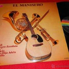 Discos de vinilo: HENRY JEROME Y SU ORQUESTA EL MANISERO LP 1973 MCA EDICION ESPAÑOLA SPAIN EXCELENTE ESTADO. Lote 41230585