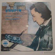 Discos de vinilo: FLEXI 33 RPM SELLO CID ESPAÑOLA- CHOPIN PIANO JEAN GUITTON- RARISIMO. Lote 41234491