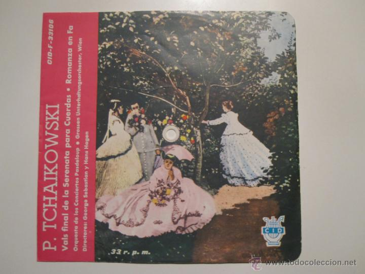 FLEXI 33 RPM SELLO CID ESPAÑOLA- TCHAIKOWSKI- RARISIMO (Música - Discos - Singles Vinilo - Clásica, Ópera, Zarzuela y Marchas)