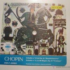 Discos de vinilo: FLEXI 33 RPM SELLO CID ESPAÑOLA- CHOPIN- PIANO GUITTON Y SZUDOLSKI-RARISIMO. Lote 52339151