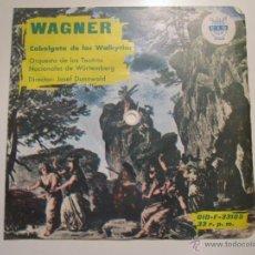 Discos de vinilo: FLEXI 33 RPM SELLO CID ESPAÑOLA- WAGNER -CABALGATA DE WALKYRIAS-RARISIMO. Lote 41234817