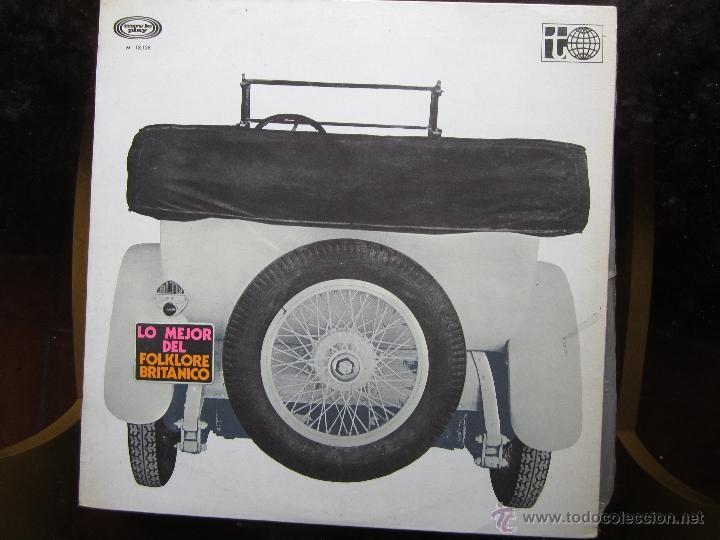 LO MEJOR DEL FOLKLORE BRITANICO (Música - Discos de Vinilo - Maxi Singles - Country y Folk)