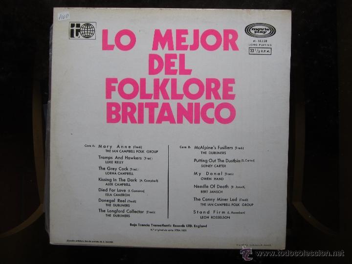 Discos de vinilo: lo mejor del folklore britanico - Foto 2 - 41237003