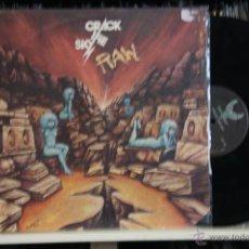 Discos de vinilo: CRACK THE SKY, RAW, MADE IN CANADA, 86, LP. Lote 41241170