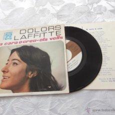 Discos de vinilo: DOLORS LAFFITTE 7´SG A CARA O CREU (1968) *PREMIO REVELACION 1968 CANÇO CATALANA* MUY RARO. Lote 41242354