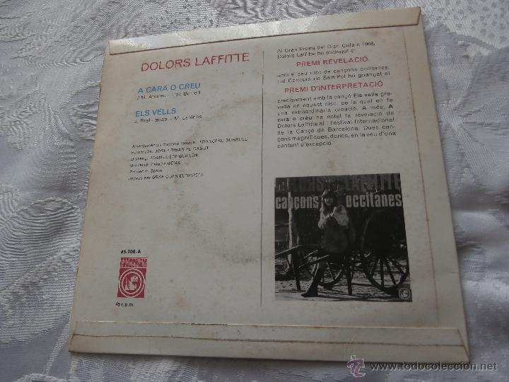 Discos de vinilo: DOLORS LAFFITTE 7´SG A CARA O CREU (1968) *PREMIO REVELACION 1968 CANÇO CATALANA* MUY RARO - Foto 2 - 41242354