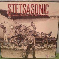 Discos de vinil: STETSASONIC - BLOOD, SWEAT & NO TEARS - LP VINILO HIP HOP - EXCELENTE ESTADO. Lote 41247088