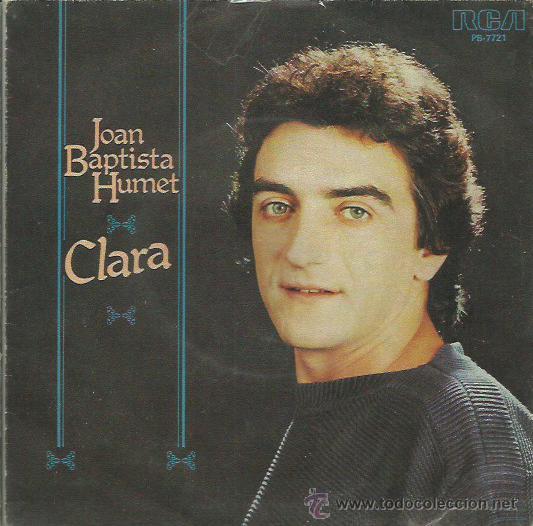 JOEN BAPTISTA HUMERT SINGLE SELLO RCA AÑO 1980 CARA B EL IMBIERNO (Música - Discos de Vinilo - EPs - Solistas Españoles de los 70 a la actualidad)