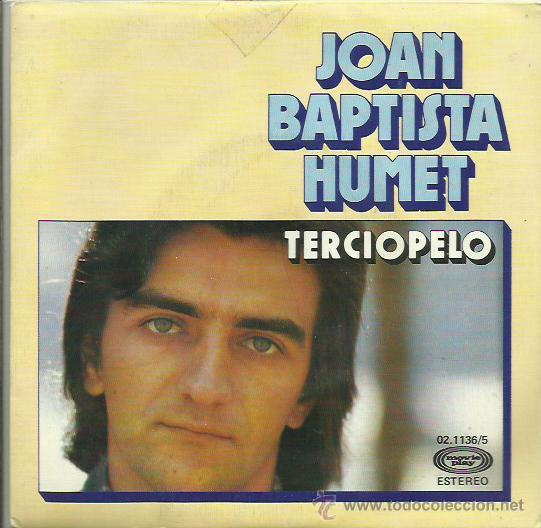 Discos de vinilo: JOAN BAPTISTA SINGLE SELLO MOBYEPLAY AÑO 1976 CARA B REGRESARAS - Foto 1 - 41247502