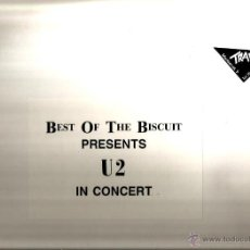 Discos de vinilo: DOBLE LP BEST OF THE BISCUIT PRESENTS U2 IN CONCERT. Lote 41247574